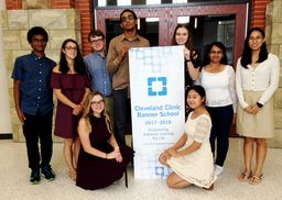WHS Named Cleveland Clinic Banner School