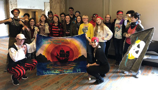 WHS Latin Club Earns Awards at State Convention