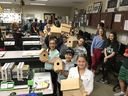 Bassett 4th Grade Visits WHS for Explore, Make & Take Project