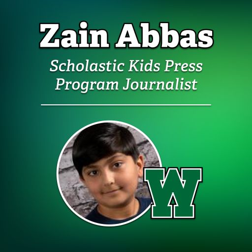 Westlake Student Zain Abbas Chosen to Report for Scholastic Kids Press