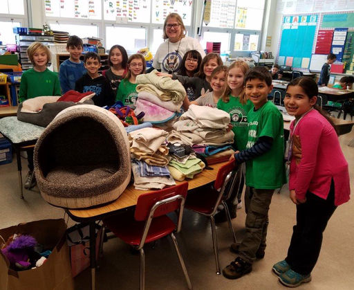 Elementary Students Take Action To Help Their Community