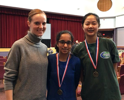 Middle School Mathletes Bring Home Awards