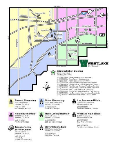 Campus Map - Westlake City District on
