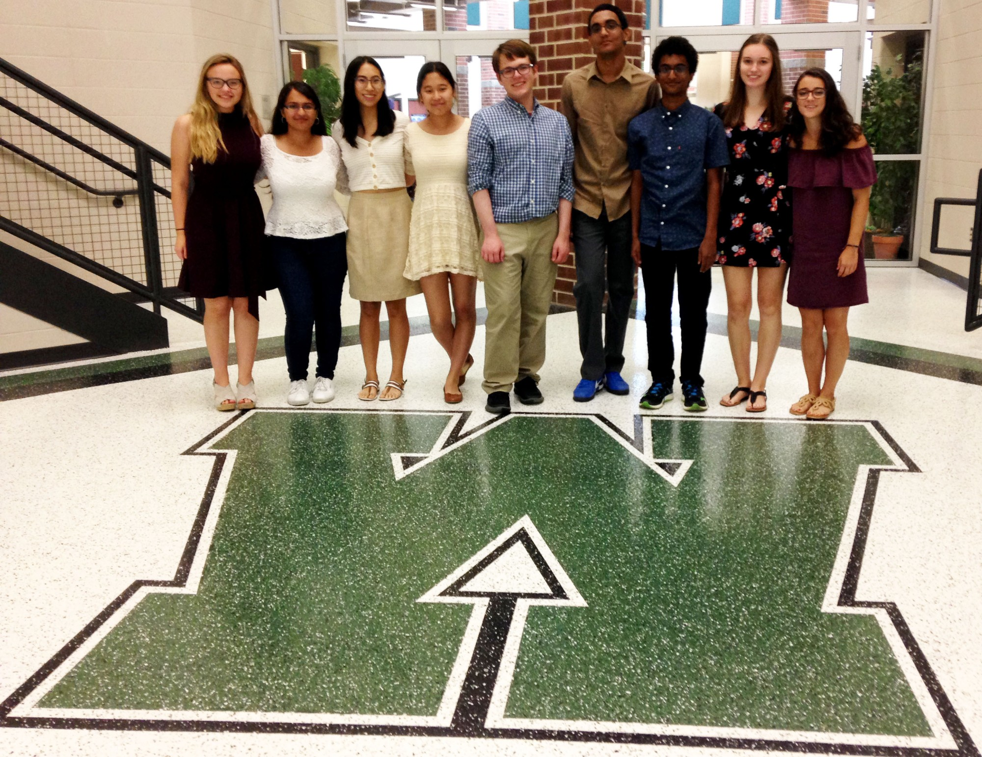 WHS National Merit Semifinalists