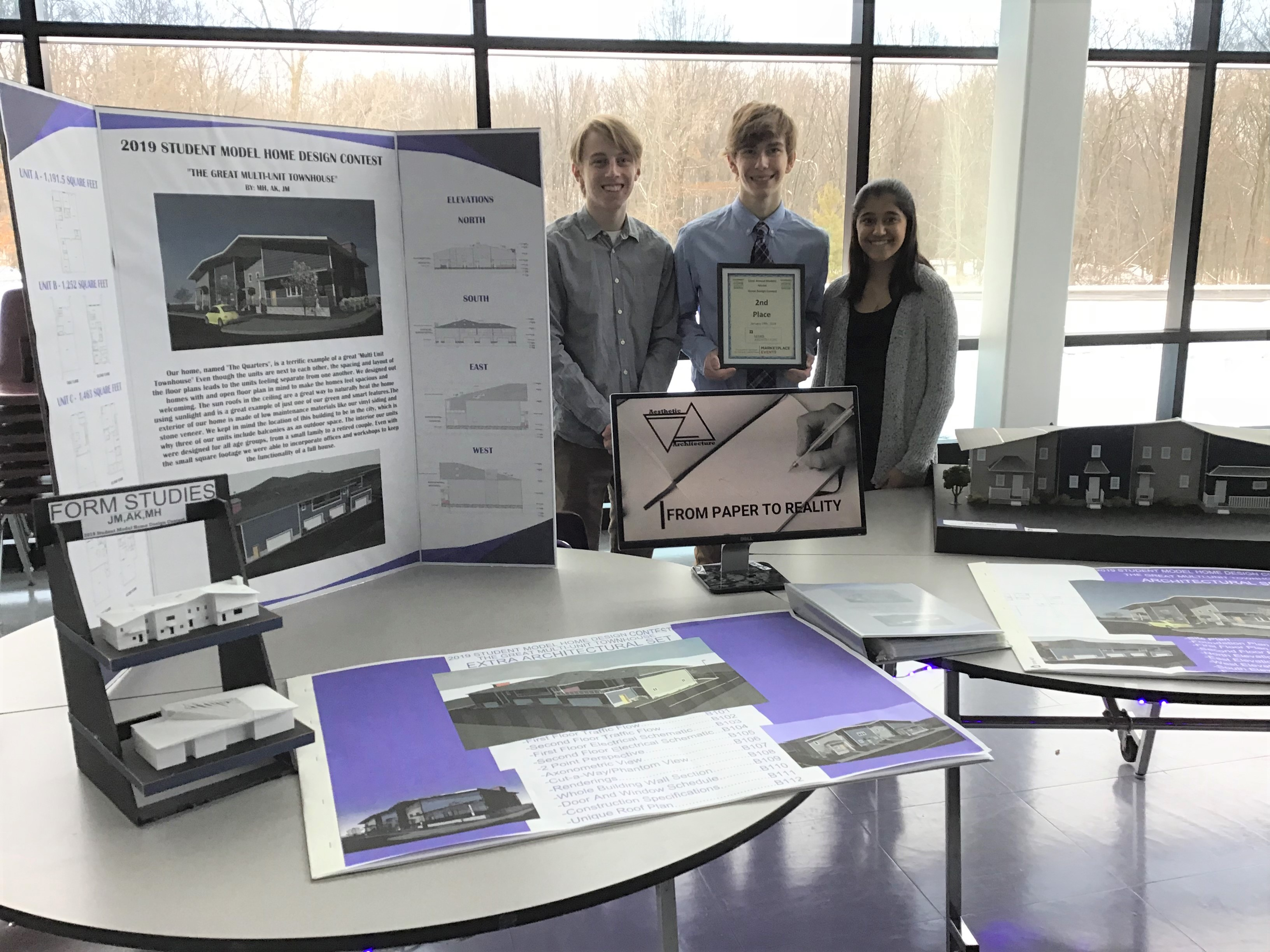 2019 Student Model Home Design Contest 2nd place team