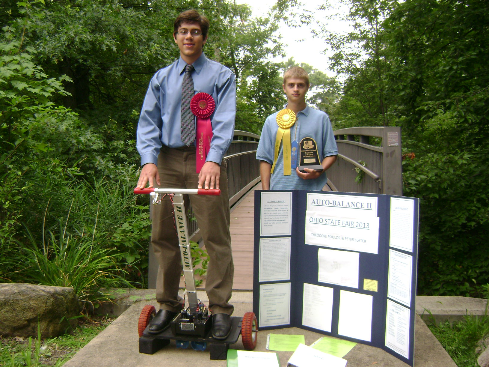 Auto Balance - Best of Show at Ohio State Fair T & E Showcase - Theodore Poulos and Peter Slater 8-19-2013