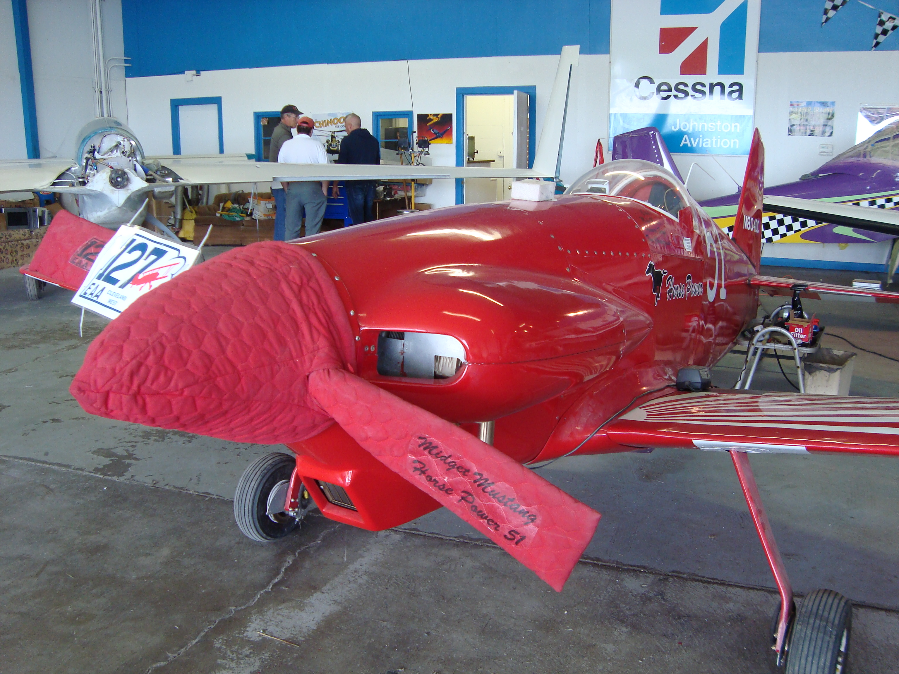 Discover Aviation Day - Midget Mustang