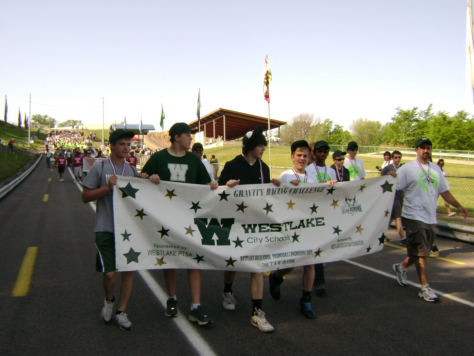 WHS Team during the GRC Parade in May 2012