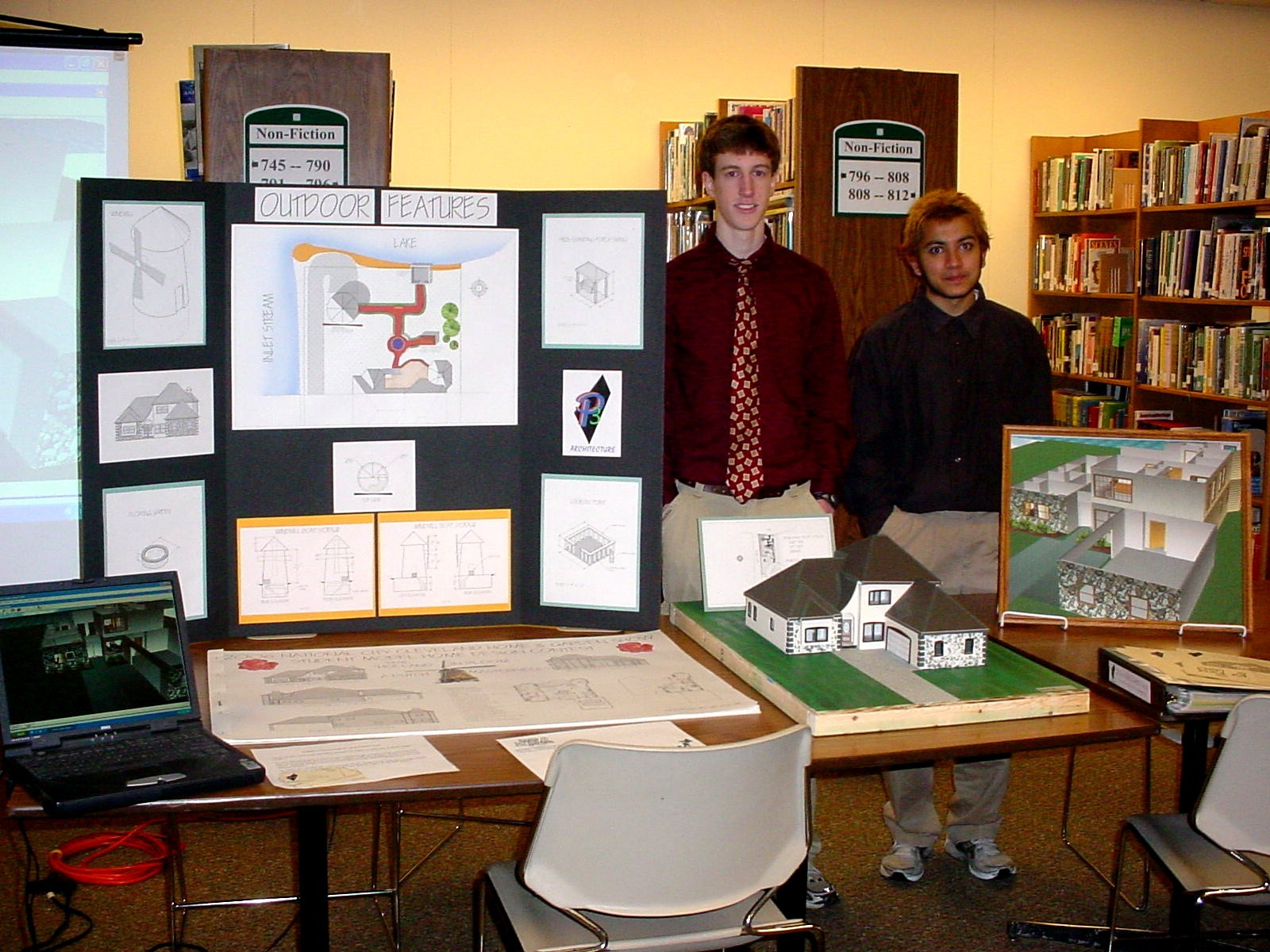 2006 Student Model Home Design Contest - Rakesh Patel & Mark Pothier - grand prize winners