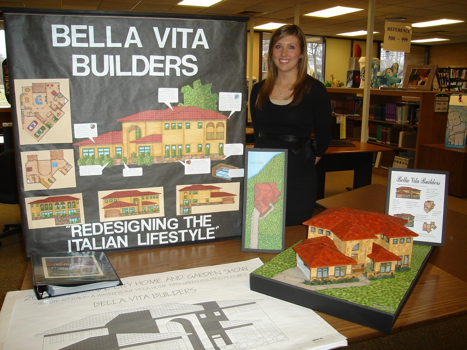 2008 Student Model Home Design Contest grand prize winner - Stephanie Schill